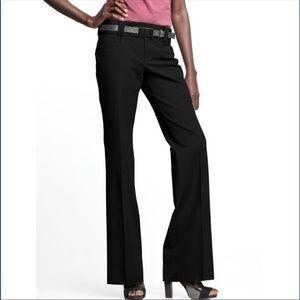 NWT Banana Republic Sloan Flare Leg Pant In Black